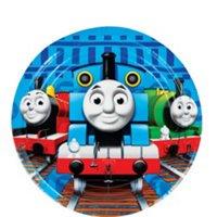 Thomas The Tank Engine Dessert Plates Pk Of 8 - Birthday Party Tableware