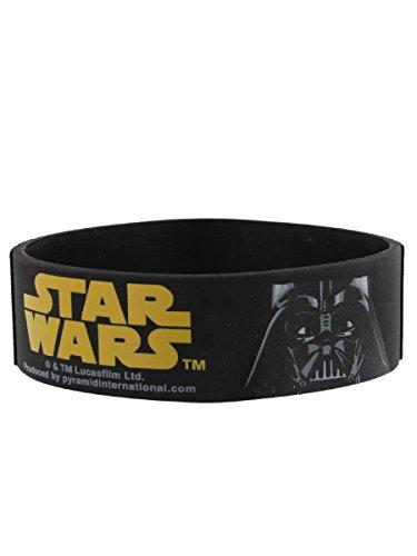 Star Wars Darth Vader braccialetto in gomma