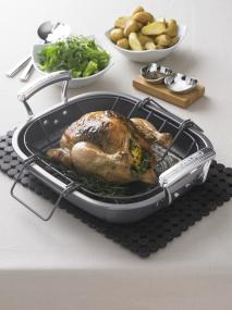 Perfect suggested use for the Circulon Bakeware Oven Roaster with Rack