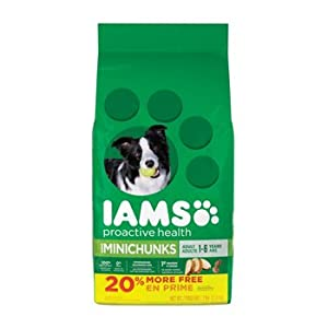 IAMS Dry Food Adult MiniChunks Dog Food, 7 lb