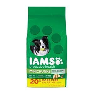 IAMS Dry Food Adult MiniChunks Dog Food, 7 lb