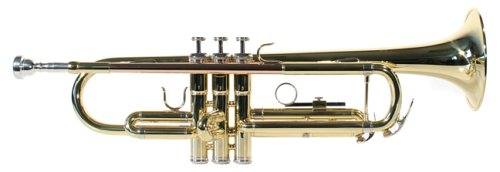 Windsor Student Bb Trumpet Includes Hard Case – Gold Lacquer