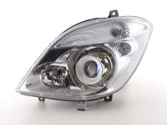 Spare parts headlight left Mercedes Benz Sprinter Yr. 06-