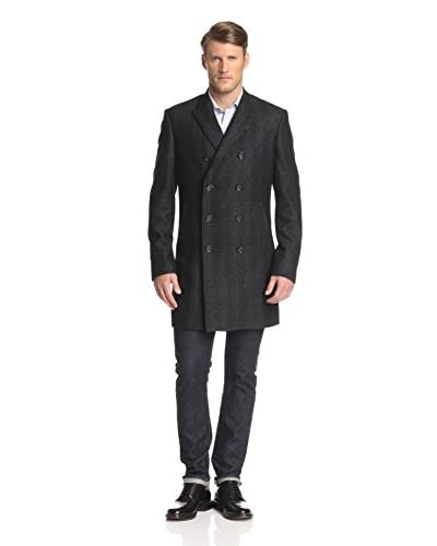 7 Diamonds Men's Genoa Double Breasted Coat
