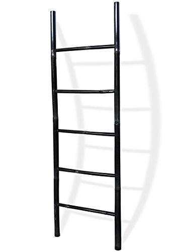 LioLiving-Dekoleiter-Handtuchhalter-aus-Bambus-schwarz-used-look-200-x-61-cm-400115