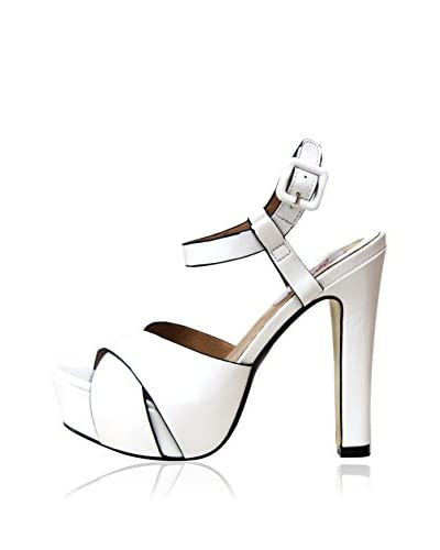GAL·LATEA Sandalo Con Tacco [Bianco]