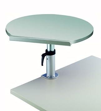 Ergonómico atril de escritorio, soporte de pinza, placa melaminharzb.