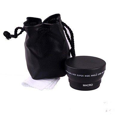 Limme 0.45 X 49Mm Wide Angle Macro Lens For Sony Nikon Canon Fujifilm Samsung Pentax Panasonic Leica Olympus Sigma 49Mm Thread Lens
