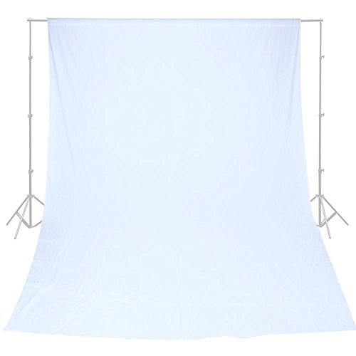 Backdrop White Muslin Background Photo Video Studio Portrait 100% Cotton 10x20'