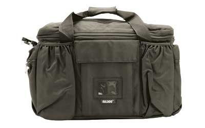Best Buy! Bulldog Extra Large Deluxe Black Police & Shooters Range Bag with Strap