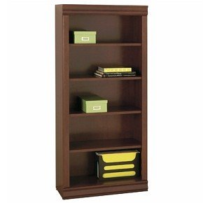 Vintage Bookcase in Classic Cherry Finish By South Shore Furniture