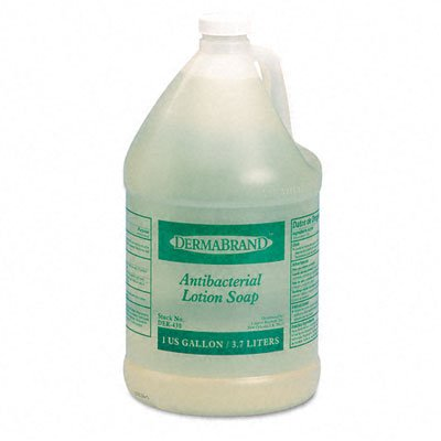 Antibacterial Liquid Soap, Unscented Liquid, 1gal Bottle