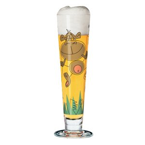 Ritzenhoff Pilsner Beer Glass with Coaster by Frank Maier