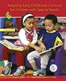 img - for Adapting Early Childhood Curricula for Children With Special Needs by Ruth E. Cook (1992-02-01) book / textbook / text book
