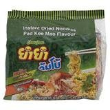 YUM YUM JUMBO INSTANT NOODLES PAD KEE MAO 60G. PACK 10