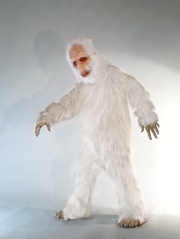 White Sasquatch Adult Halloween Costume