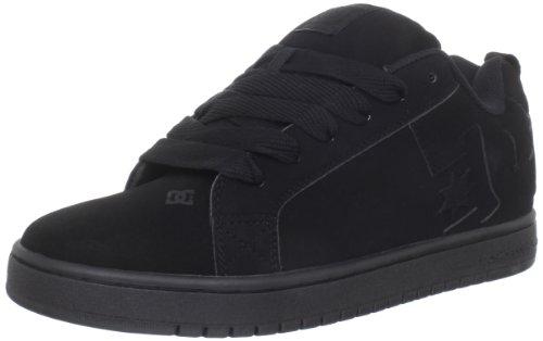 Dc Men'S Court Graffik Sneaker,Black/Black/Black,14 M Us front-958202