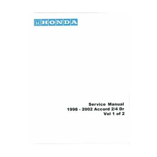 Contents contributed and discussions participated by justin woodward 2001 honda accord shop manuals fandeluxe Image collections