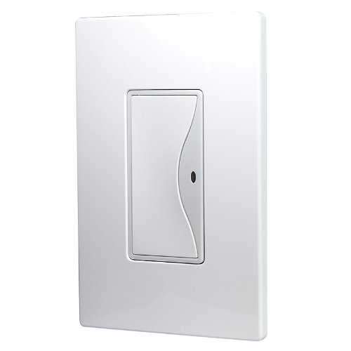 Cooper Wiring Devices Rf9520Ws Aspire Non-Rf 3-Way Led Accessory Switch For The Rf9518 Wireless Switch, White Satin Finish