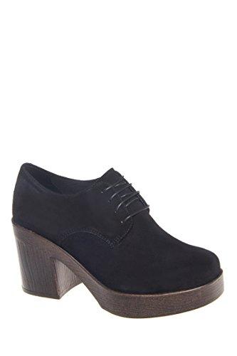 Marva Mid Heel Platform Bootie