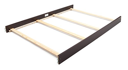 Simmons Kids Slumbertime Augusta Full Size Crib Conversion Rails, Molasses