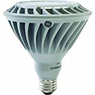 GE Lighting 68181 LED26DP38/FL/TP 26W Dimmable PAR38 LED Floodlight Bulb