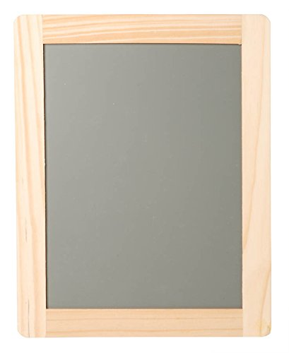 "Darice Wood Framed Synthetic Chalkboard, 6 by 8"" - 1"