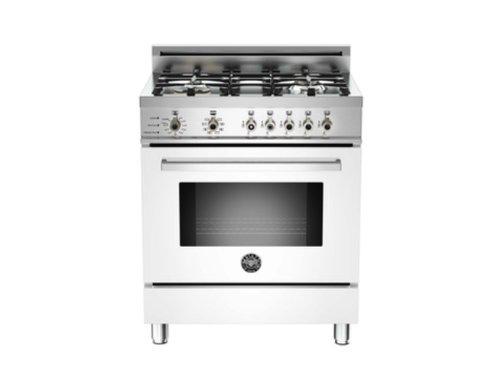 Pro304Dfsbi | Bertazzoni Professional 30 Dual Fuel Range, Natural Gas - Bianco White