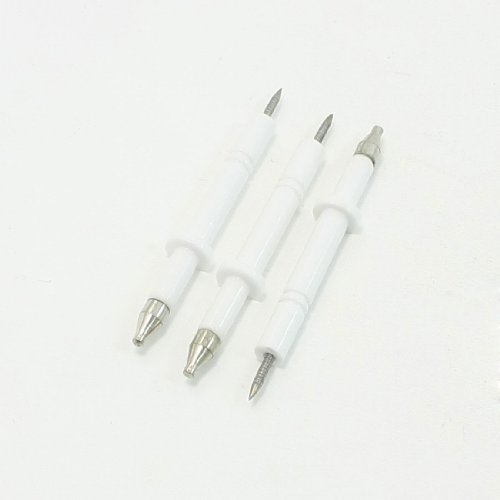 3 Pcs Gas Water Heater Spare Parts Flush Mounting Ignition Inductor Needle 8# front-168523