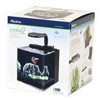 Aqueon AQE17100 Evolve Desk Top Aquariums Tank, 2-Gallon