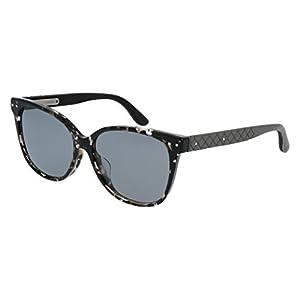 Sunglasses Bottega Veneta BV0044SA-002 AVANA / GREY / GREY