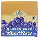 Betty Lou's Gluten Free Fruit Bars Blueberry -- 12 Bars