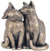 yum-yum-friend-bronzed-cats-sculpture-by-paul-jenkins-by-frith-sculpture-naturally-cats-sculpture