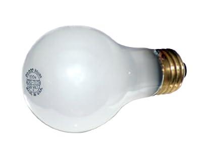 Aero-Tech ULA-103 20,000 Hour 150-Watt A23 Frosted Rough Service Incandescent Bulb
