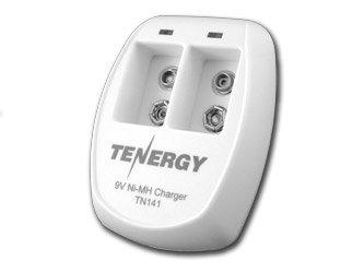 Tn141 2-Bay 9V Smart Battery Charger For Nimh Batteries