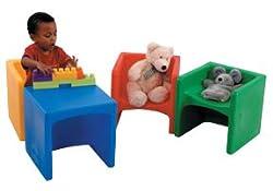 Cube Chair Blue