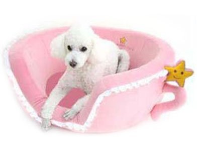 Fancy Afternoon Tea Party Dog or Cat Bed