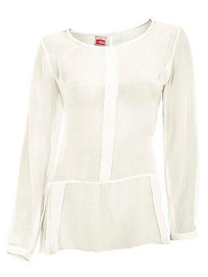 Camicia Chiffon, crema di Travel Couture by H**** bianco 52