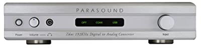 Parasound - Zdac - Digital to Analog Converter - Silver