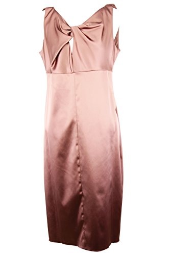 max-mara-womens-sleeveless-sheath-dress-size-14-regular-pink-acetate-blend