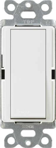 Lutron CA-4PS-WH Diva 15 A 4-Way Switch, White