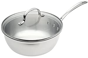 Calphalon Tri-Ply Collector's Edition 3-Quart Chef's Pan with Lid