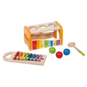 Toy / Game Educo Early Melodies Pound And Tap Bench with Great Fun Exploring Making Rhythm And Melodies - 1