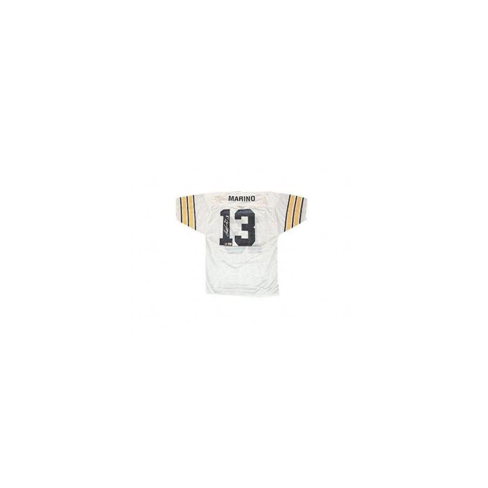 online retailer 1648a cbde8 Dan Marino Pittsburgh Panthers Autographed White Mesh Jersey ...