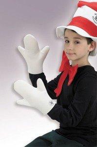 Cat In Hat Mitts Child Costume Accessory