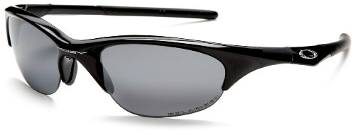 Men's Oakley Half Jacket Iridium Polarized Sunglasses