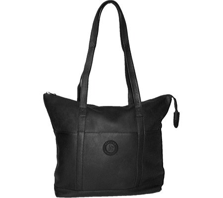 MLB  Black Leather Women's Tote