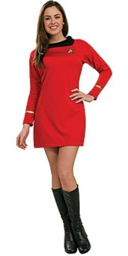 Secret Wishes  Star Trek Classic Deluxe Red Dress, Adult Medium