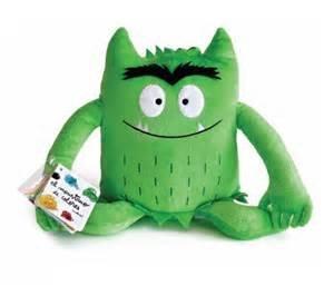 Monstruo De Colores Peluche Verde