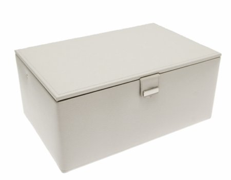 Dulwich Designs Large Stone Leather Jewellery Box 70357